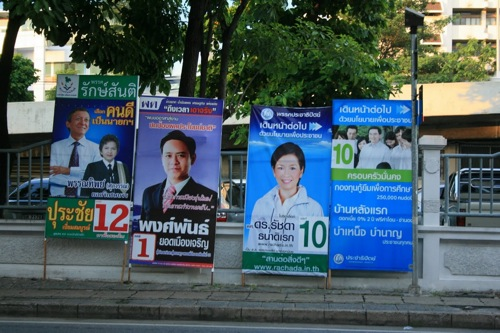 2011 06 07 thai election posters