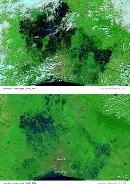 2011 10 27 thailand flooding sat image nasa