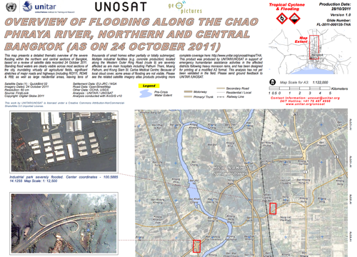 Thailand flooding update October 31 2011 Yingluck says flooding