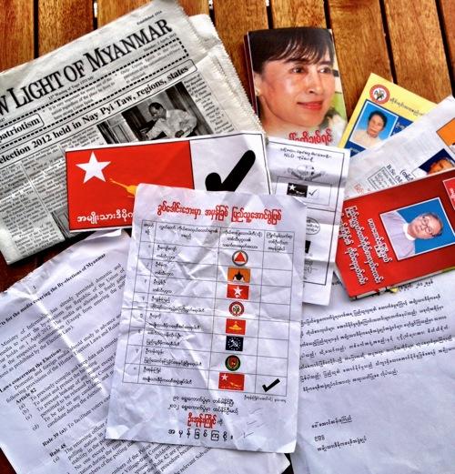 2012 04 04 myanmar elex political emphemera