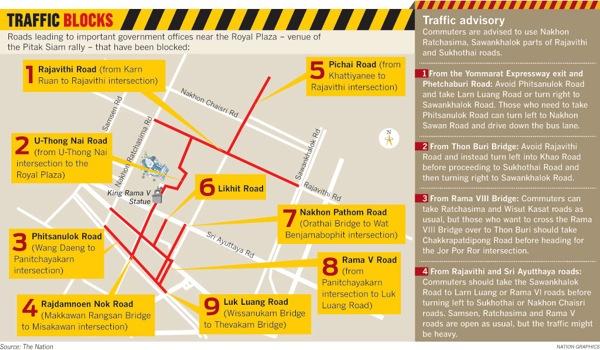 2012 11 23 bangkok protest map