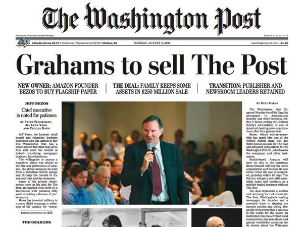 2013 08 11 wapo front page