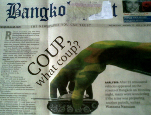 2014 05 20 bkk post coup rumors