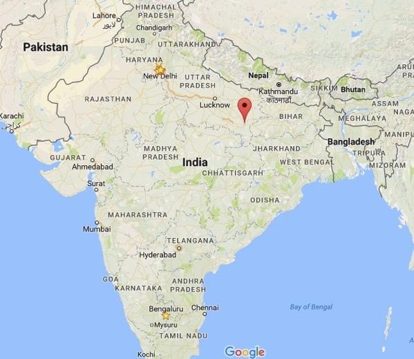 Varanasi map