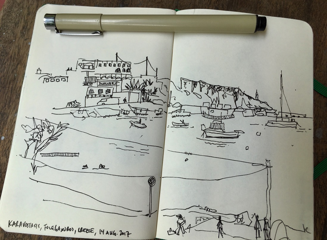 folegandros drawing IMG 3001