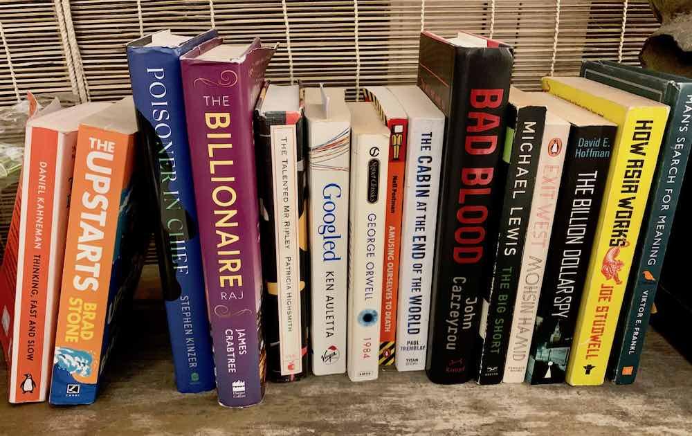 The books I read in 2019