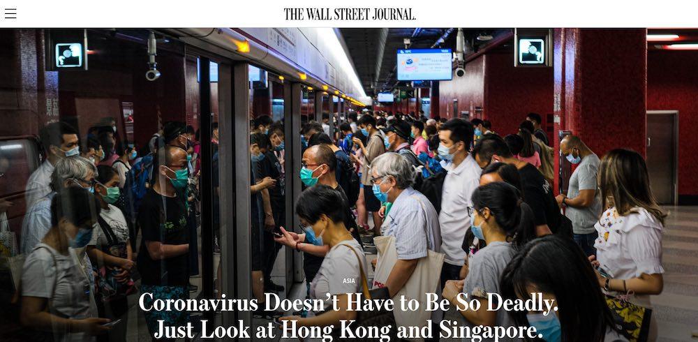 coronavirus Hong Kong Singapore