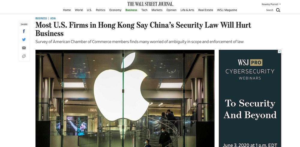 Hong Kong businesses