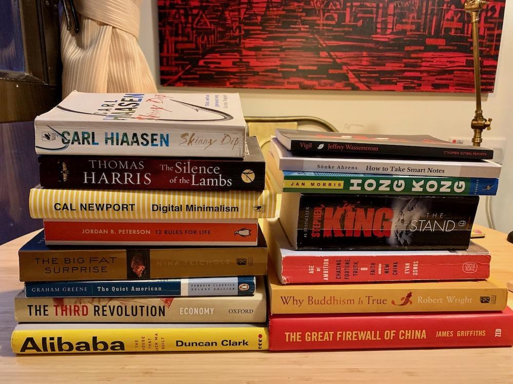 Books I read in 2020