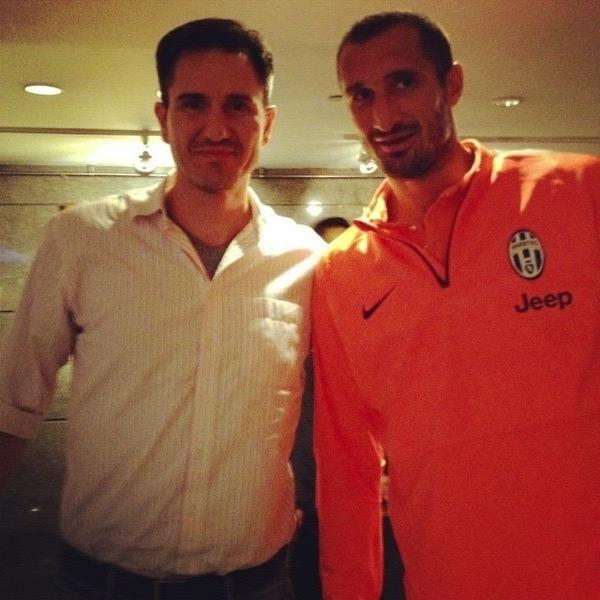 Me with Giorgio Chiellini